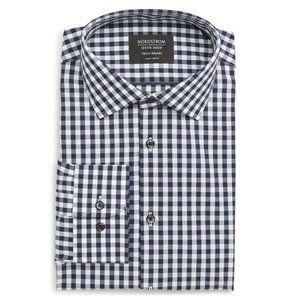 Tech-Smart Extra Trim Fit Stretch Dress Shirt
